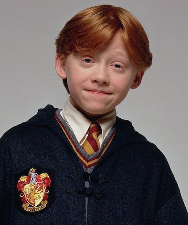 Ron Weasley của phim Harry Potter đã làm bố - 2