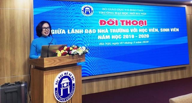 Đại học Mở Hà Nội: Lần đầu thi hết môn trực tuyến với toàn bộ sinh viên - 2