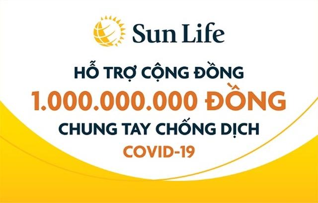 Sun Life Việt Nam đóng góp 1 tỷ đồng vào công tác phòng chống dịch Covid- 19 - 1