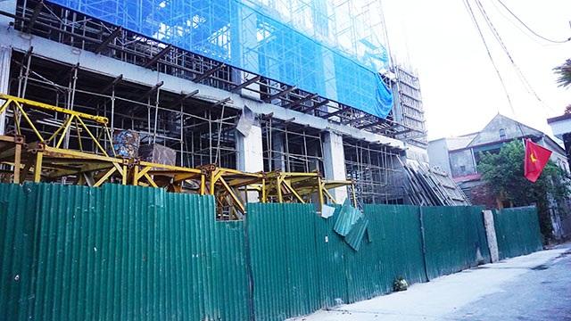 Dự án 20 tầng thi công, người dân có nhà không dám ở tại Nghệ An - 1