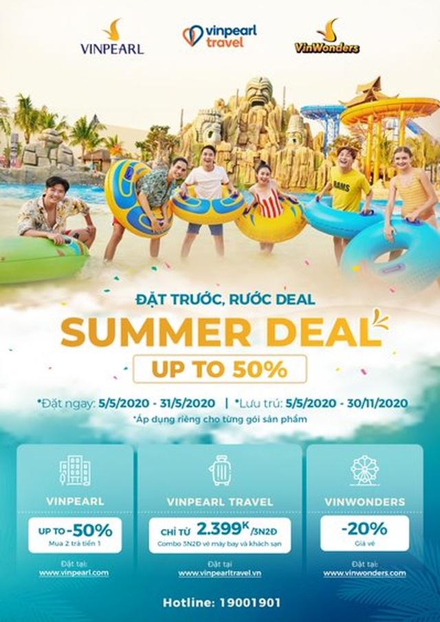 Vinpearl siêu ưu đãi đón hè 2020 với kỳ nghỉ 5 sao trọn gói chỉ từ 2.399.000 đồng - 1