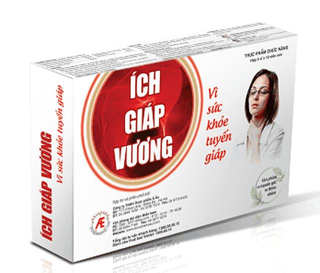 Ích Giáp Vương hỗ trợ giảm triệu chứng tuyến giáp, ngăn ngừa Basedow - 3
