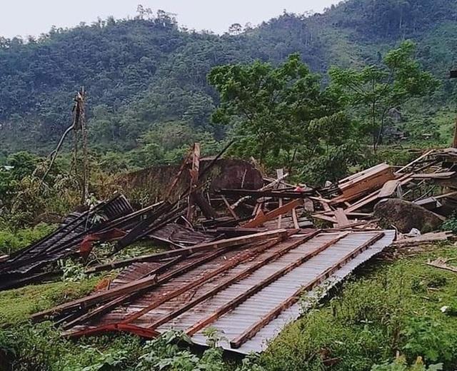 9 xã vùng biên thiệt nặng nề do lốc xoáy và mưa đá - 1
