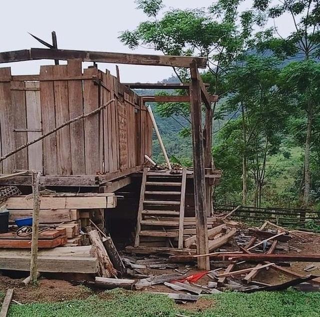 9 xã vùng biên thiệt nặng nề do lốc xoáy và mưa đá - 4
