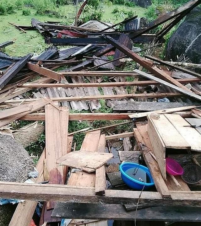 9 xã vùng biên thiệt nặng nề do lốc xoáy và mưa đá - 3