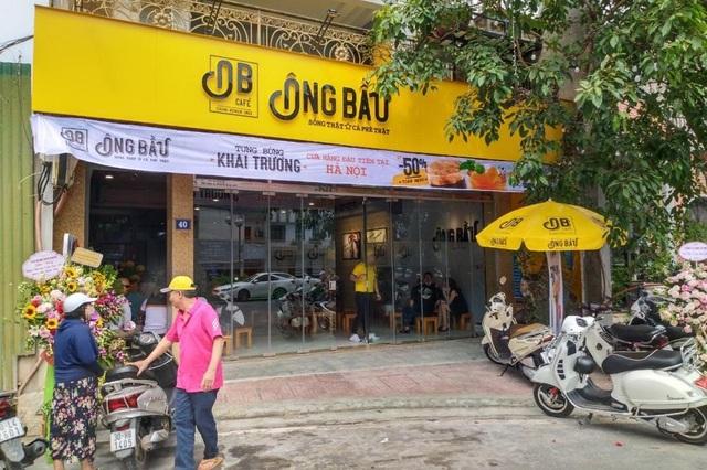 Ngay sau dịch Covid-19, chuỗi cà phê Ông Bầu khai trương cửa hàng đầu tiên tại Hà Nội - 1