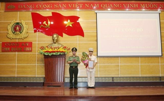 Quảng Bình có tân Phó Giám đốc Công an tỉnh - 1