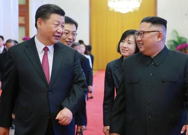Ông Kim Jong-un gửi điện mừng Trung Quốc  - 1