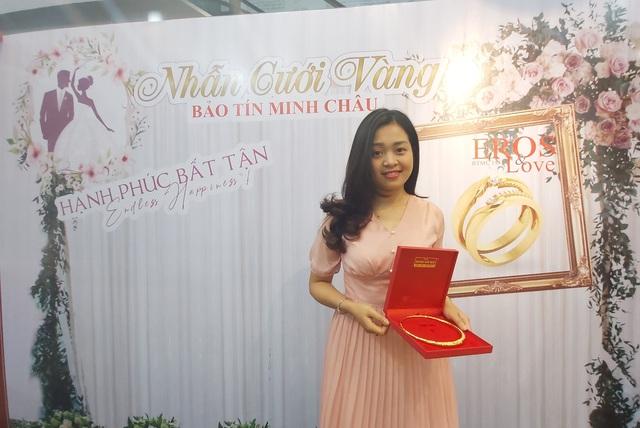 Mua trang sức cưới Bảo Tín Minh Châu trúng thưởng gấp 4 lần giá trị - 1