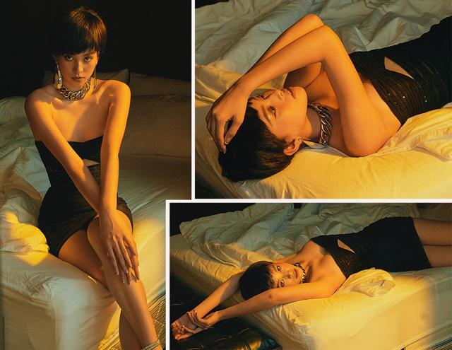 Hoa hậu Trần Tiểu Vy khác lạ với tóc ngắn cá tính - 4