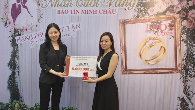 Mua trang sức cưới Bảo Tín Minh Châu trúng thưởng gấp 4 lần giá trị - 2