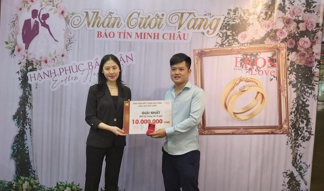 Mua trang sức cưới Bảo Tín Minh Châu trúng thưởng gấp 4 lần giá trị - 3