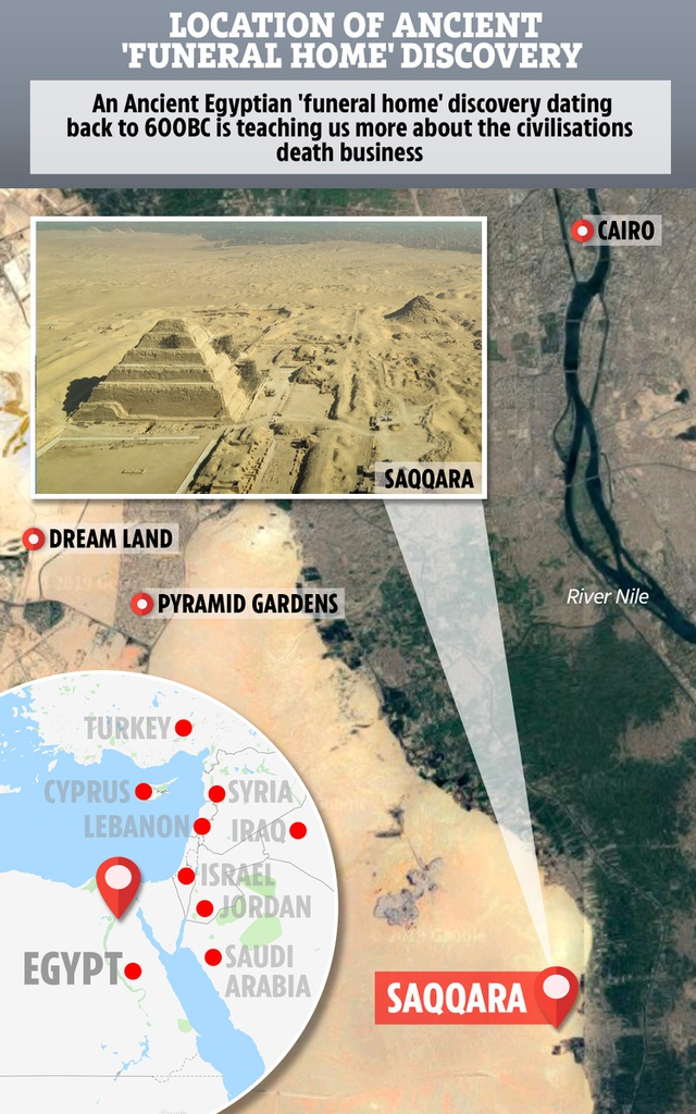 """Khám phá """"Thành phố của người chết"""" thời Ai Cập cổ đại - 10"""