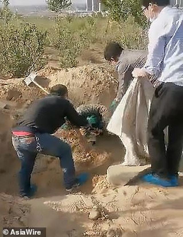 Người mẹ tàn tật sống sót thần kỳ sau 72 giờ bị con trai chôn sống