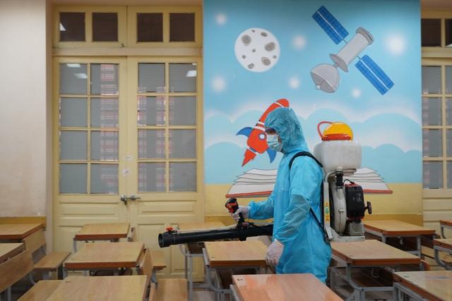 Các trường tiểu học, mầm non quận Hoàn Kiếm sẵn sàng đón học sinh trở lại - 3