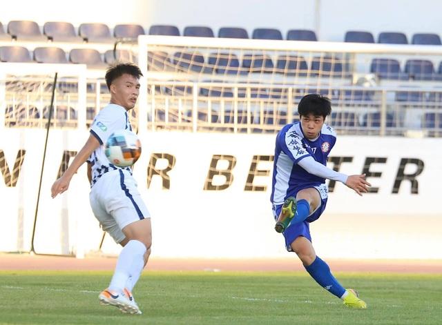 Công Phượng nhạt nhòa, CLB TPHCM thua Bà Rịa Vũng Tàu trong trận đấu tập - 1
