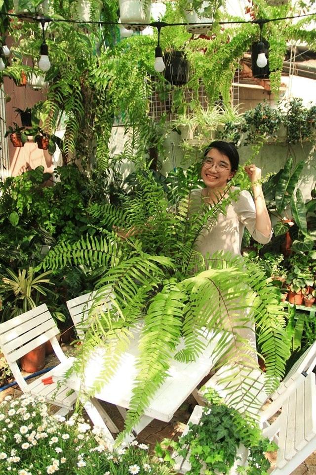 Người mẹ Đà Nẵng chăm chút khu vườn 18m2 đẹp như mơ tặng con trai - 3