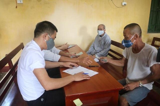Thái Bình: Chi hơn 600 triệu đồng tới lao động tự do gặp khó vì Covid-19 - 1
