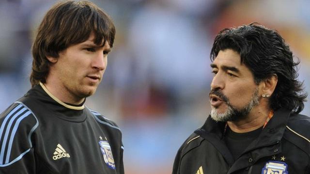 """""""Messi là số 1 nhưng Maradona đến từ hành tinh khác"""" - 1"""