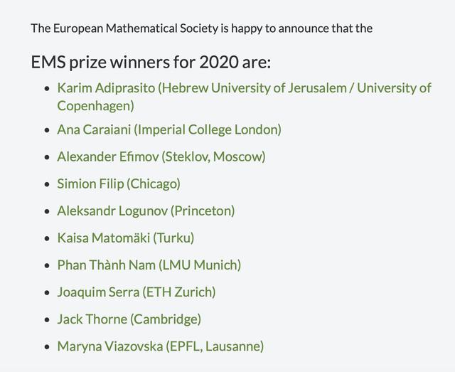 Giáo sư Việt vừa nhận giải thưởng toán học danh giá nhất châu Âu là ai? - 2
