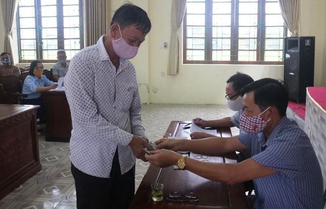Thái Bình: Chi hơn 600 triệu đồng tới lao động tự do gặp khó vì Covid-19 - 2
