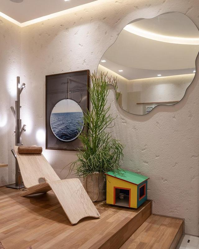 Nhà 25m2 gây ấn tượng thị giác cực mạnh nhờ cách bố trí nội thất thông minh - 6