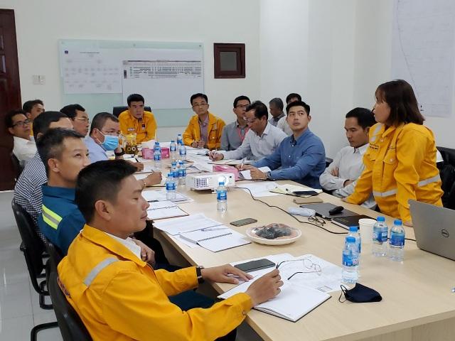 Tổng Giám đốc PV GAS kiểm tra và triển khai công tác trên công trường dự án trọng điểm - 2