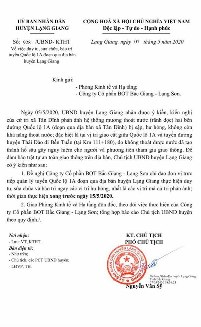 """Dân """"khóc"""", chính quyền """"nóng mặt"""" với Công ty BOT Bắc Giang - Lạng Sơn! - 9"""
