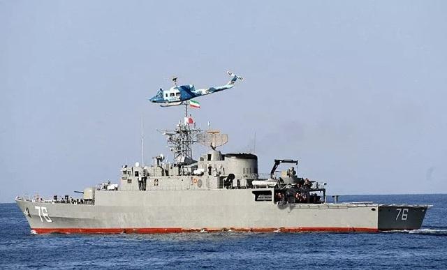 Chiến hạm Iran bị nghi phóng nhầm tên lửa vào quân mình trong tập trận - 1