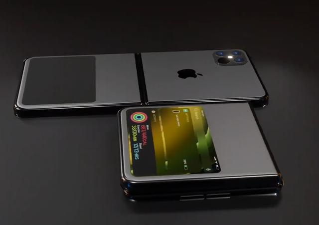 Độc đáo ý tưởng iPhone 12 Flip màn hình gập - 1