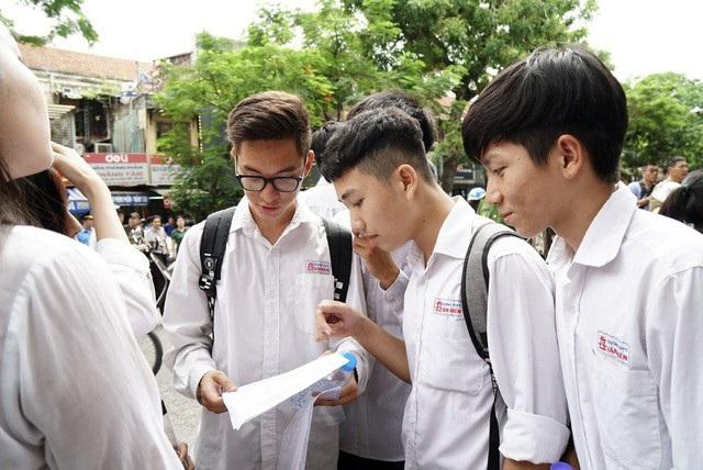 Những thí sinh được cộng điểm ưu tiên trong xét tuyển đại học năm 2020 - 1