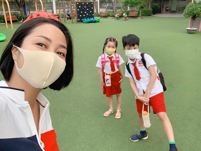 Sao Việt cho con đi học: người vẫn nặng lo âu, người nhớ con da diết - 3
