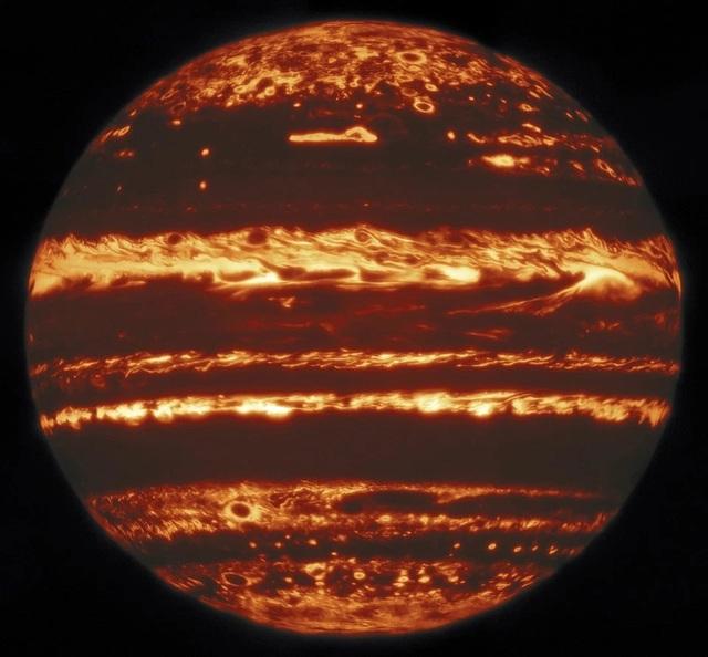 Bức ảnh gây kinh ngạc của sao Mộc - 1