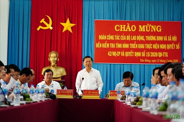 Thứ trưởng Lê Tấn Dũng: Cần đẩy nhanh tiến độ hỗ trợ nhóm lao động tự do - 1