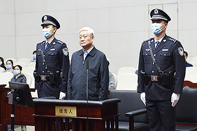 Trung Quốc xét xử cựu bí thư tỉnh ủy nhận hối lộ 60 triệu USD - 1