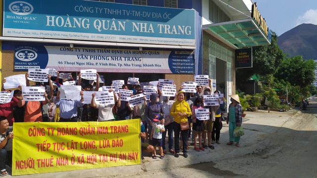 """Cư dân nhà ở xã hội Hoàng Quân lại """"cầu cứu"""" Bí thư Tỉnh ủy Khánh Hòa - 2"""