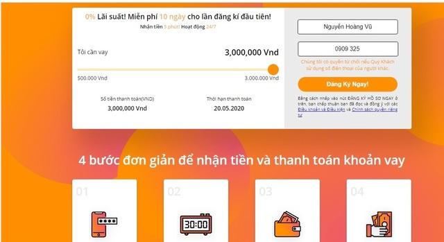 Ổ cho vay nóng online do người Trung Quốc cầm đầu, lãi suất…1000%/năm - 3