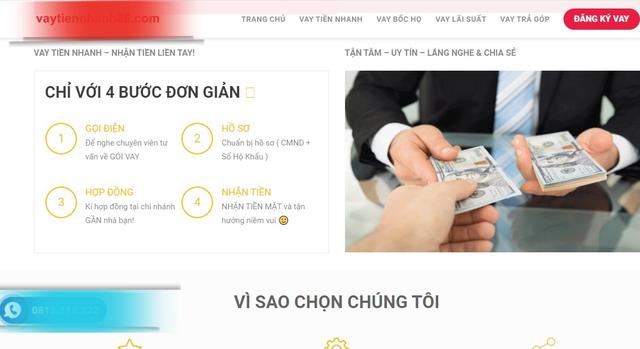 Ổ cho vay nóng online do người Trung Quốc cầm đầu, lãi suất…1000%/năm - 4