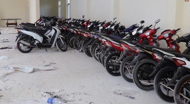 Phát hiện 60 xe mô tô trôi nổi thị trường, bị thay đổi số khung, số máy - 1