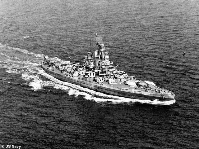 Phát hiện xác tàu chiến Mỹ từng bị đánh chìm gần Trân Châu Cảng - 2