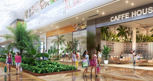 Triển khai tuyến phố đi bộ như trong sân bay Changi giữa lòng tòa tháp cao cấp nhất  Ecopark - 3