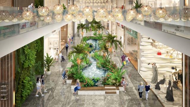Triển khai tuyến phố đi bộ như trong sân bay Changi giữa lòng tòa tháp cao cấp nhất  Ecopark - 4
