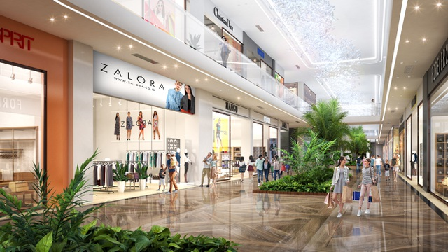 Triển khai tuyến phố đi bộ như trong sân bay Changi giữa lòng tòa tháp cao cấp nhất  Ecopark - 6