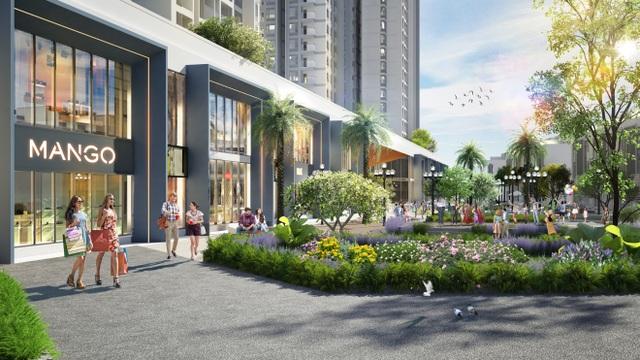 Triển khai tuyến phố đi bộ như trong sân bay Changi giữa lòng tòa tháp cao cấp nhất  Ecopark - 7