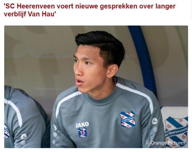 HLV Heerenveen chỉ ra điểm mạnh, điểm yếu của Văn Hậu - 3