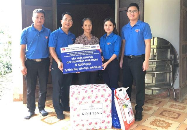 Tuổi trẻ Quảng Trị chăm sóc cựu thanh niên xung phong hoàn cảnh khó khăn - 1