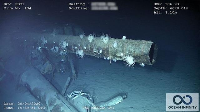Phát hiện xác tàu chiến Mỹ từng bị đánh chìm gần Trân Châu Cảng - 1