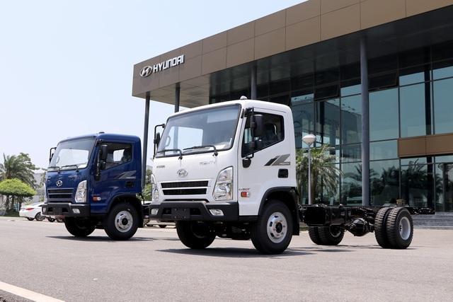 Hyundai Mighty EX8 GT chính thức ra mắt tại Việt Nam - 1
