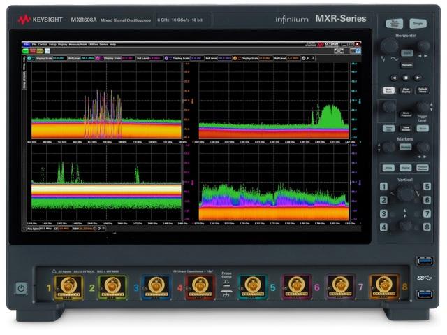 Ra mắt máy hiện sóng tín hiệu hỗn hợp Infiniium MXR Series mới - 1