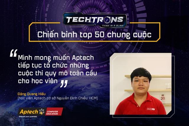 Học viên Việt Nam giành giải tại cuộc thi công nghệ của Aptech toàn cầu - 3